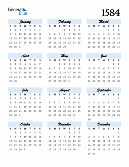 Image of 1584 1584 Calendar Cool and Funky