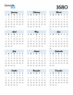 Image of 1680 1680 Calendar Cool and Funky