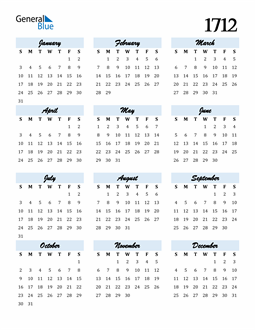 Image of 1712 1712 Calendar Cool and Funky