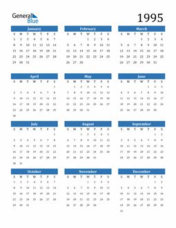 Image of 1995 1995 Calendar