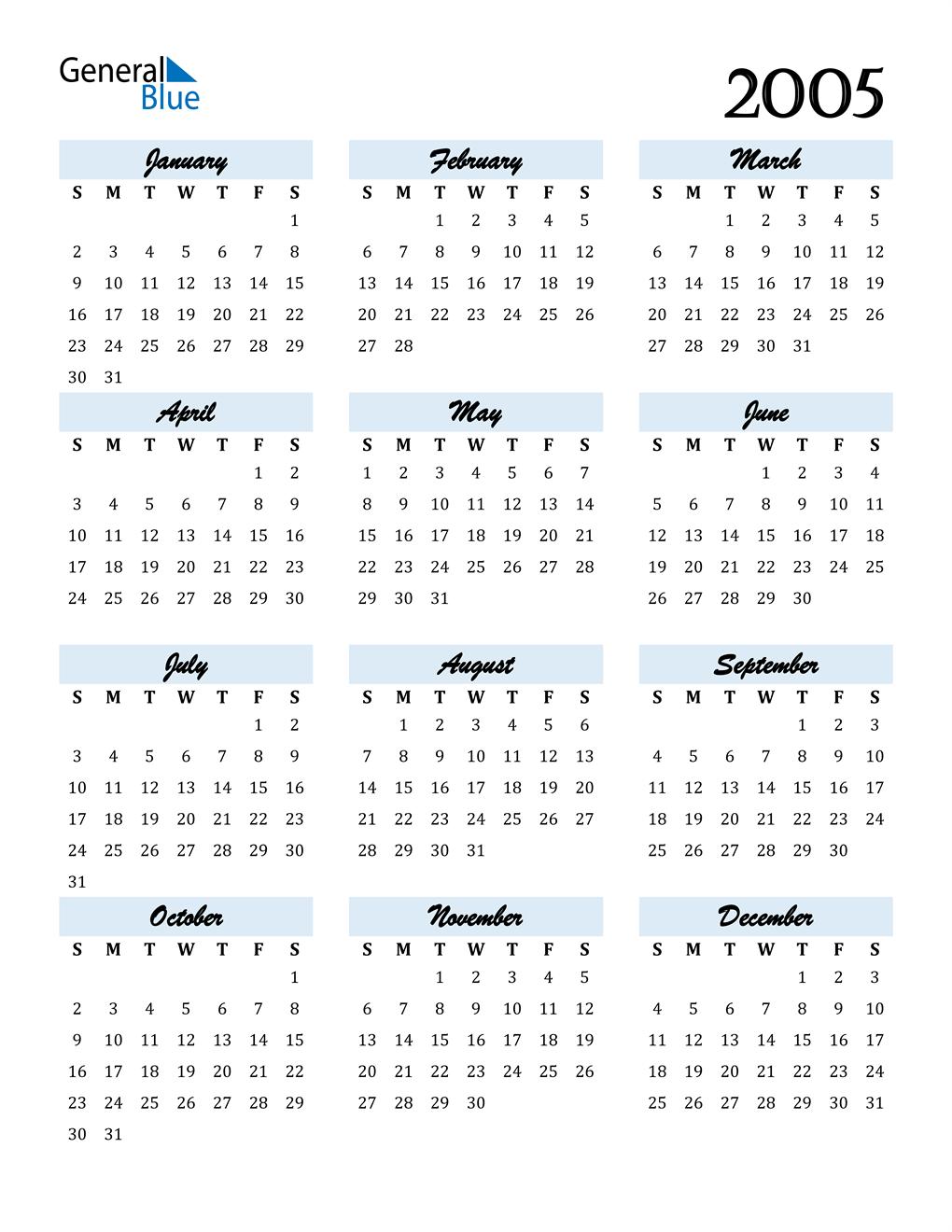 2005 kalender Kalender 2006
