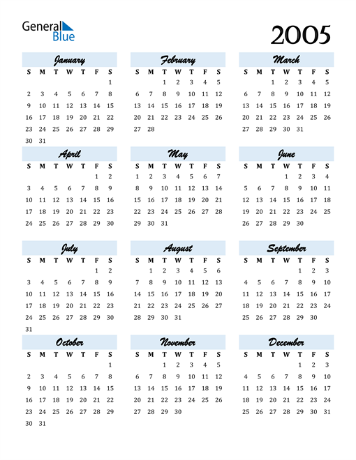 Image of 2005 2005 Calendar Cool and Funky