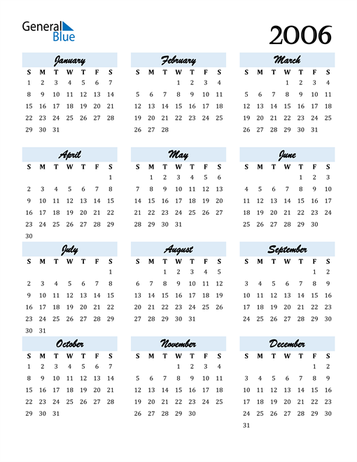 Image of 2006 2006 Calendar Cool and Funky