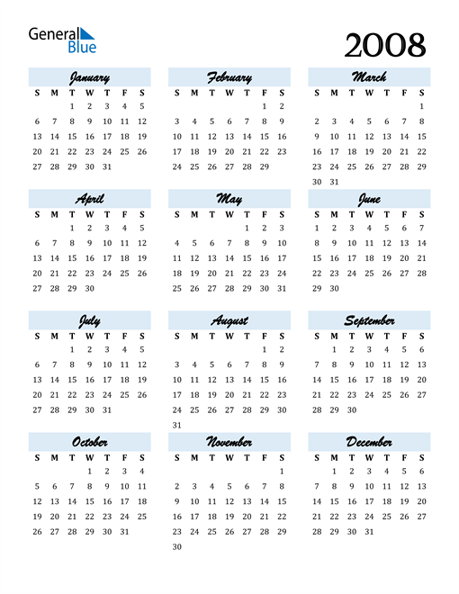 Image of 2008 2008 Calendar Cool and Funky