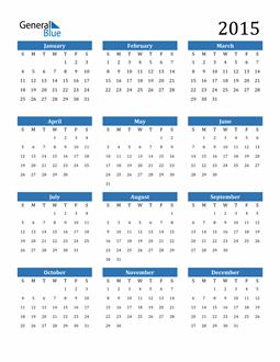 Image of 2015 2015 Calendar