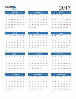 Image of 2017 2017 Calendar
