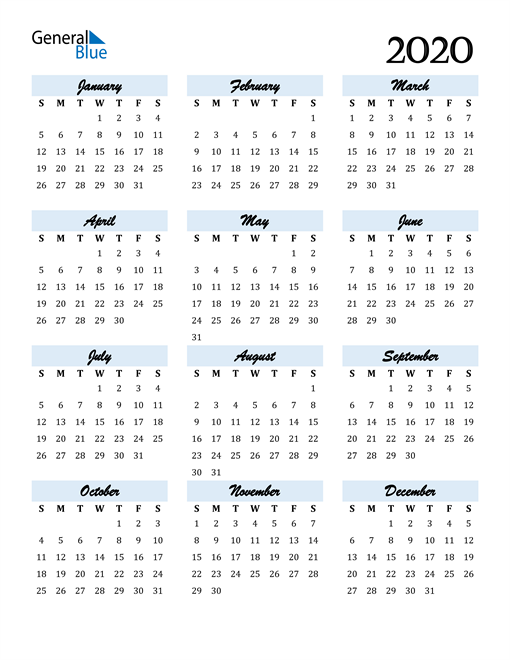 Image of 2020 2020 Calendar Cool and Funky