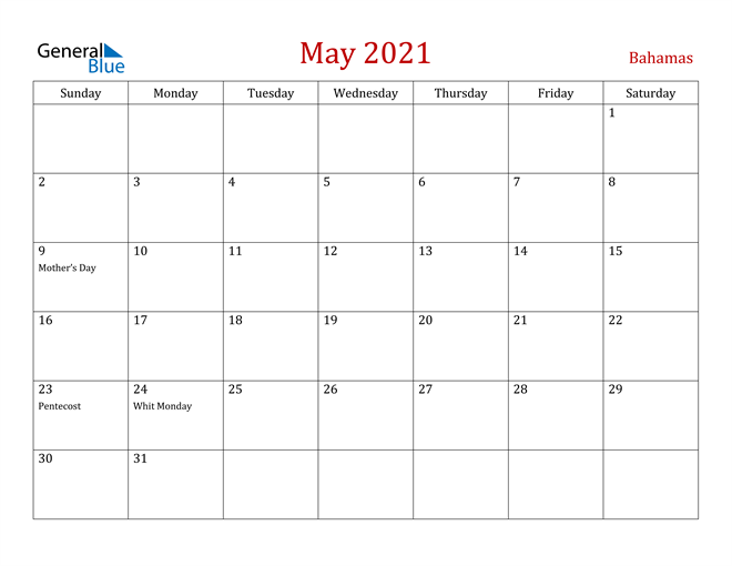 Image of May 2021 Dark and Red Professional Office Calendar Calendar