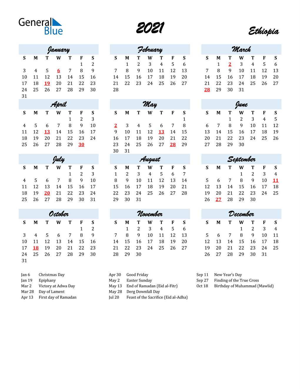 Russian Orthodox Calendar 2022.Ethiopian Orthodox Calendar 2021 Pdf
