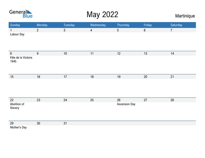 Fillable May 2022 Calendar