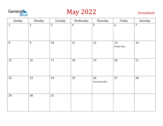 Image of May 2022 Dark and Red Professional Office Calendar Calendar