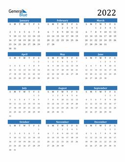 Image of 2022 2022 Calendar