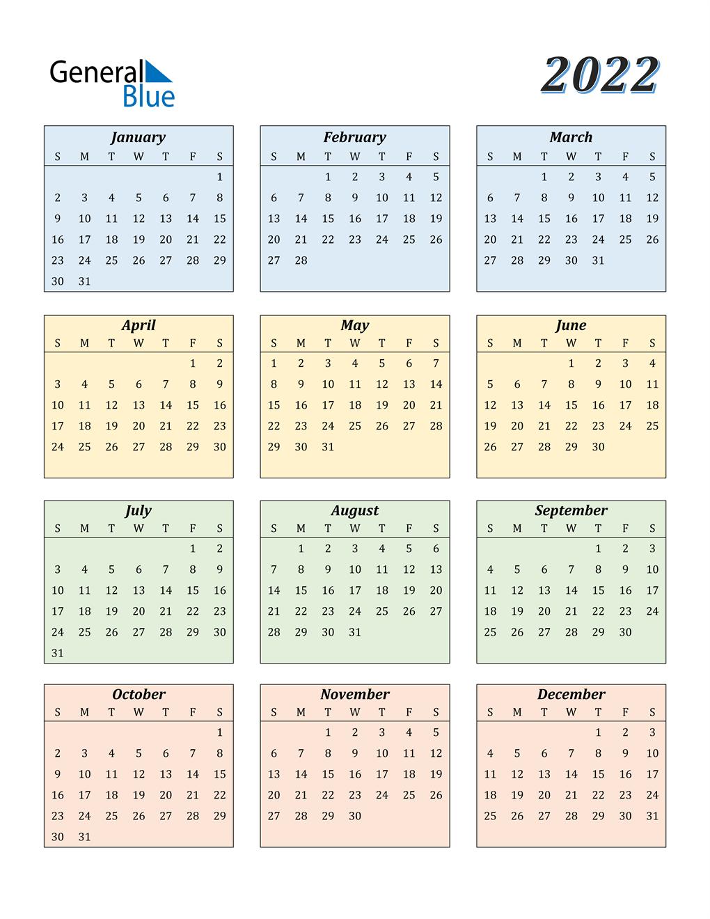 2022 Weekly Calendar Excel.2022 Calendar Pdf Word Excel