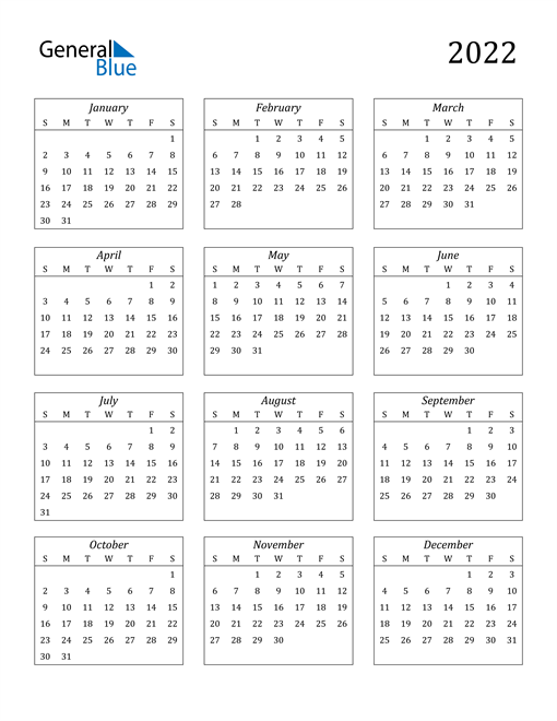 Image of 2022 2022 Calendar Streamlined