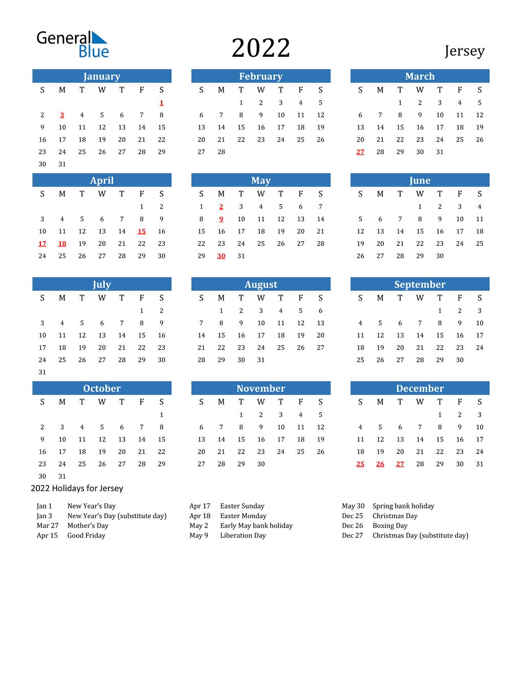 Njit Spring 2022 Calendar.2022 Jersey Calendar With Holidays