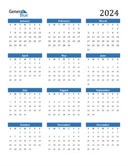Image of 2024 2024 Calendar