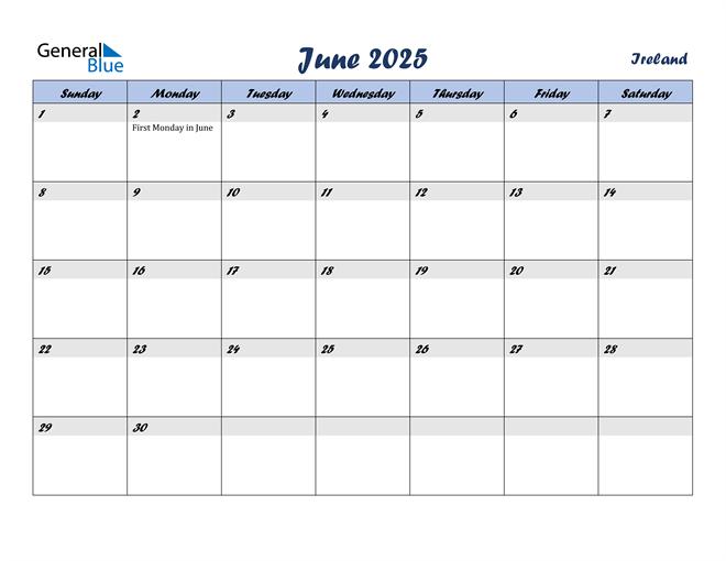 June 2025 Calendar with Holidays