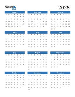 Image of 2025 2025 Calendar