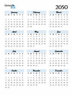 Image of 2050 2050 Calendar Cool and Funky