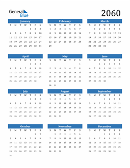 Image of 2060 2060 Calendar
