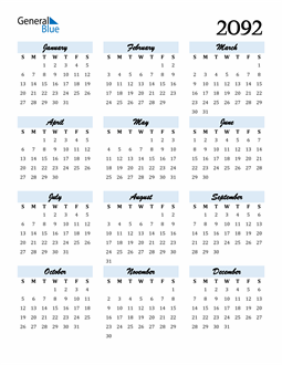 Image of 2092 2092 Calendar Cool and Funky