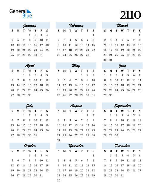 Image of 2110 2110 Calendar Cool and Funky