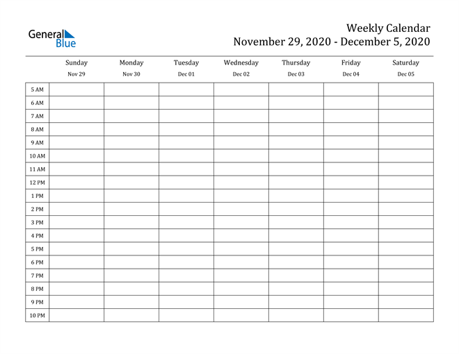 calendar november and december 2020