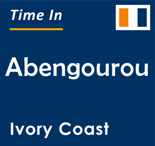 Current time in Abengourou, Ivory Coast