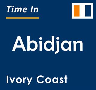 Current time in Abidjan, Ivory Coast
