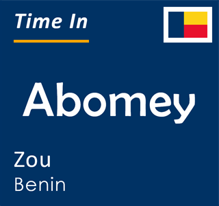 Current time in Abomey, Zou, Benin