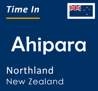 Current time in Ahipara, Northland, New Zealand