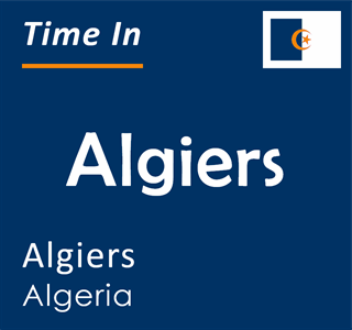 Current time in Algiers, Algiers, Algeria