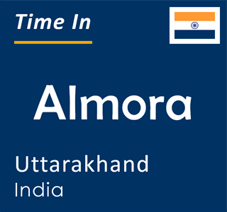 Current time in Almora, Uttarakhand, India