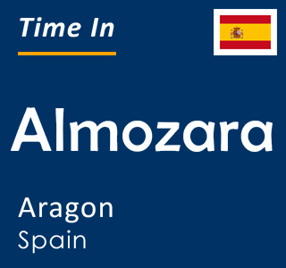 Current time in Almozara, Aragon, Spain