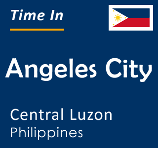 Current time in Angeles City, Central Luzon, Philippines