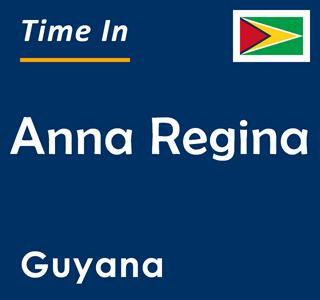 Current time in Anna Regina, Guyana