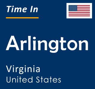 Current time in Arlington, Virginia, United States