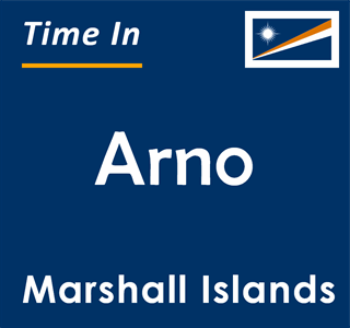 Current time in Arno, Marshall Islands