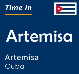 Current time in Artemisa, Artemisa, Cuba