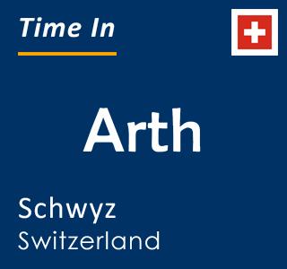 Current time in Arth, Schwyz, Switzerland