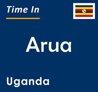 Current time in Arua, Uganda