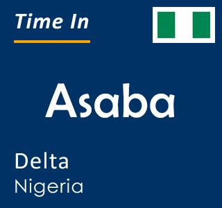 Current time in Asaba, Delta, Nigeria