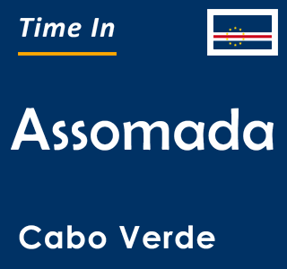 Current time in Assomada, Cabo Verde
