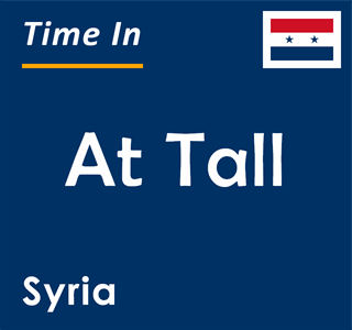 Current time in At Tall, Syria