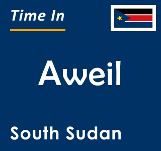Current time in Aweil, South Sudan