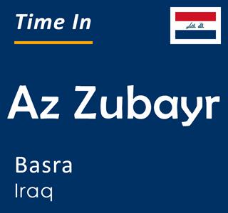 Current time in Az Zubayr, Basra, Iraq