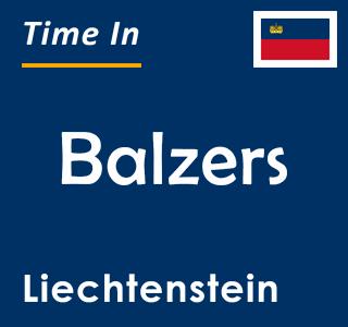 Current time in Balzers, Liechtenstein