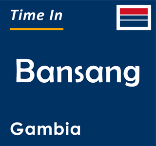 Current time in Bansang, Gambia
