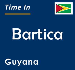 Current time in Bartica, Guyana