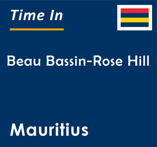Current time in Beau Bassin-Rose Hill, Mauritius
